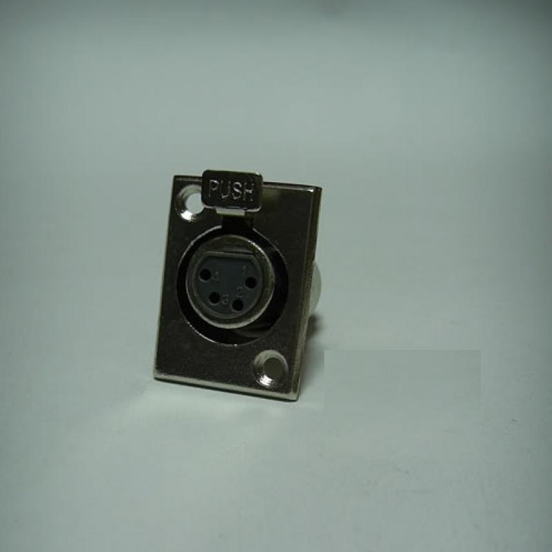 JR 2906A/4P 4 PİN ŞASE DİŞİ KANON