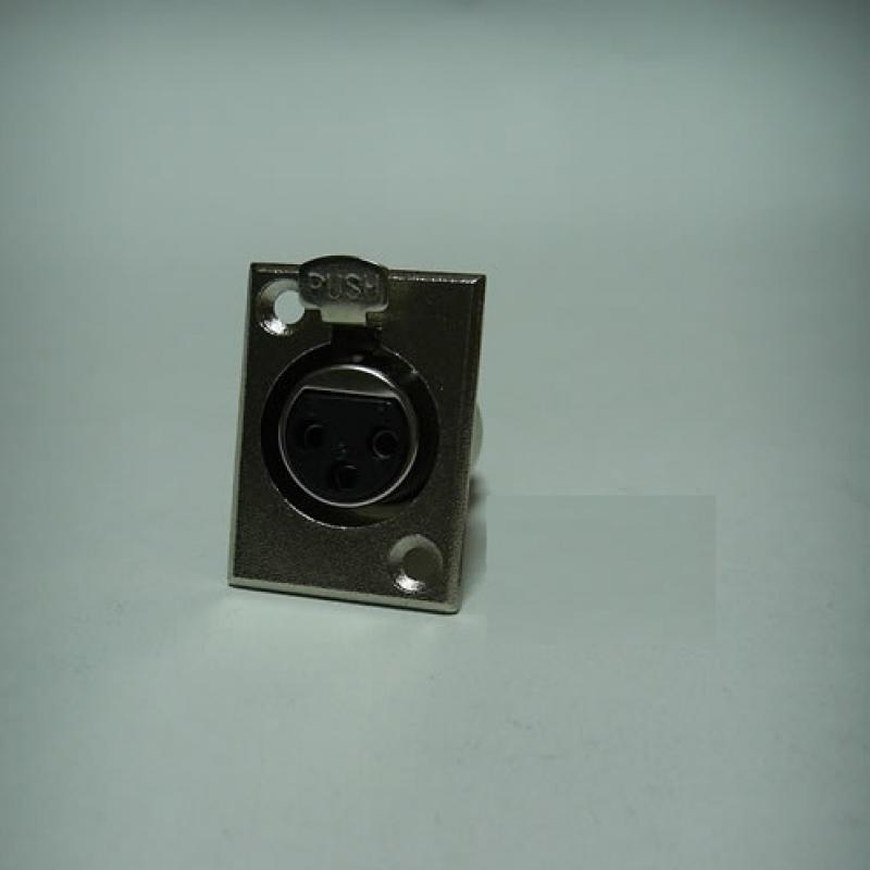 JR 2906A/3P 3 PİN ŞASE DİŞİ PLASTİK KANON