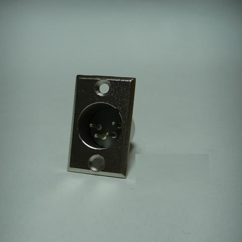 Jr 2905a/4p 4 Pin Şase Erkek Kanon