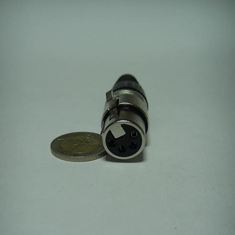 Jr 0618n/4p 4 Pin Kablo Dişi Kanon