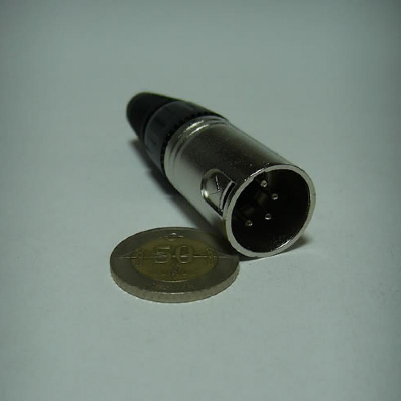 Jr 0613n/4p 4 Pin Kablo Erkek Kanon