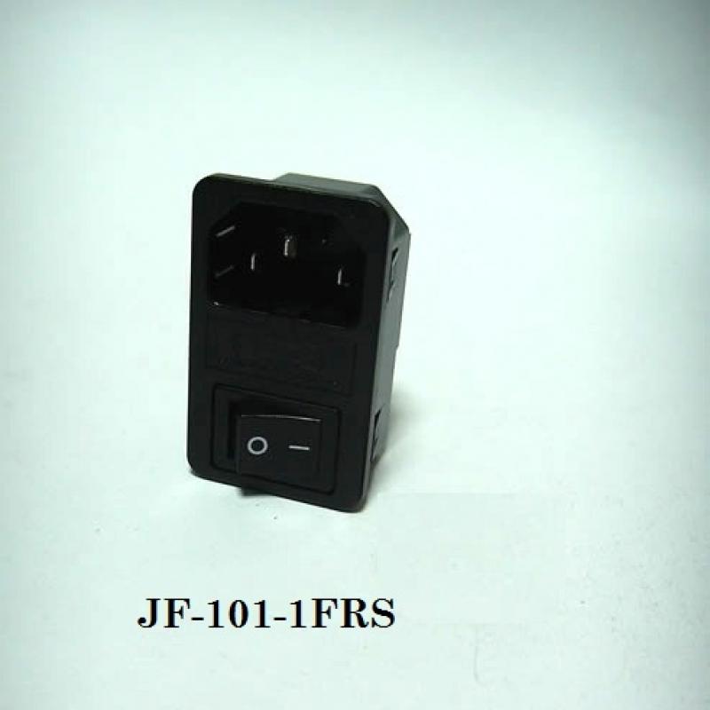 JR-101-1FRS (10)-03 PANEL ERKEK SİGORTA+ANAHTAR GEÇMELİ KONNEKTOR