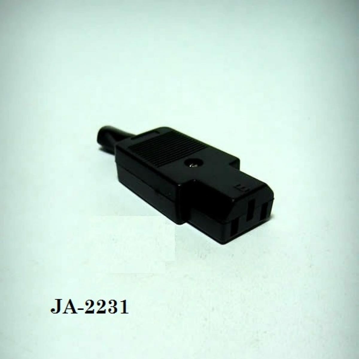 JA-2231 AC KABLO TİPİ DİŞİ KONNEKTOR