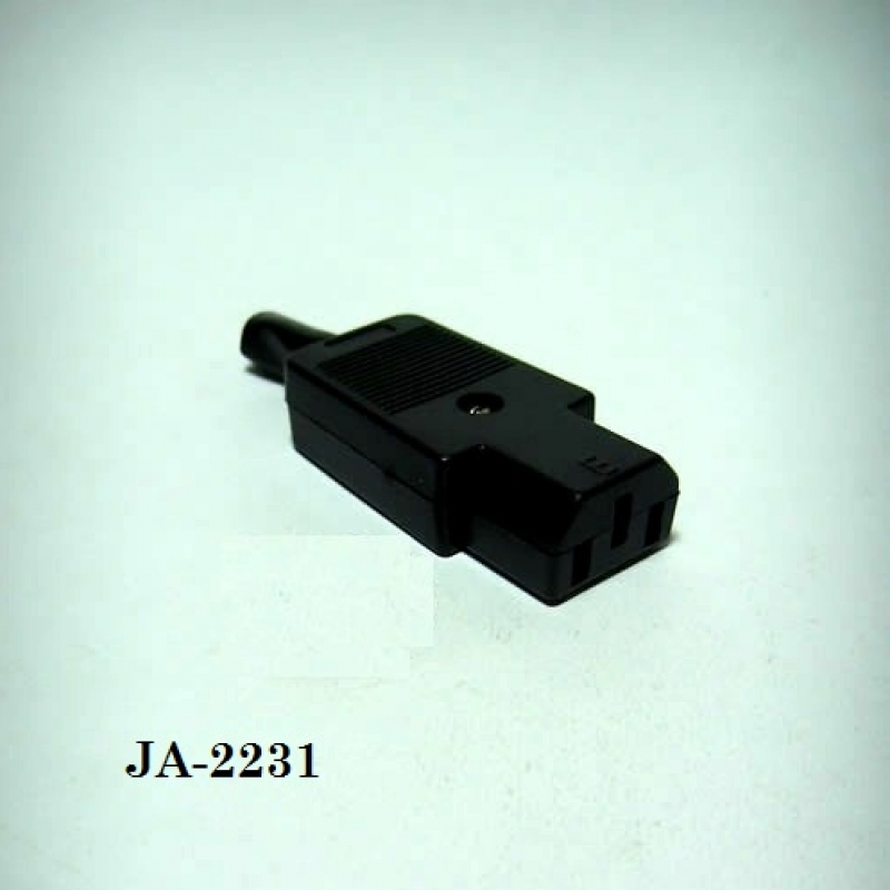 Ja-2231 Ac Kablo Tipi Dişi Konnektor